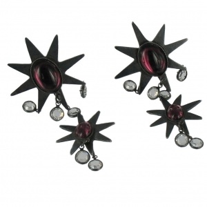 double-star-drop-earrings