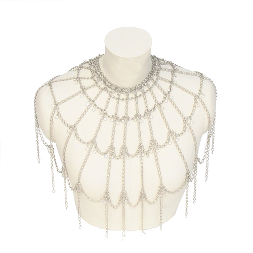 Chainmail Fluted Cape