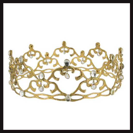 East of Paris Gold Eight Point Crown
