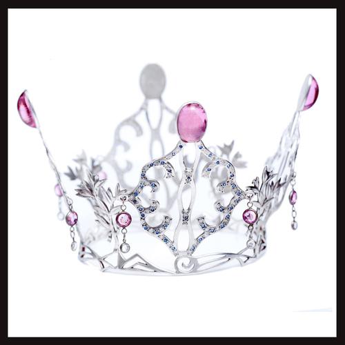 East of Paris Sapphire Leaf Crown