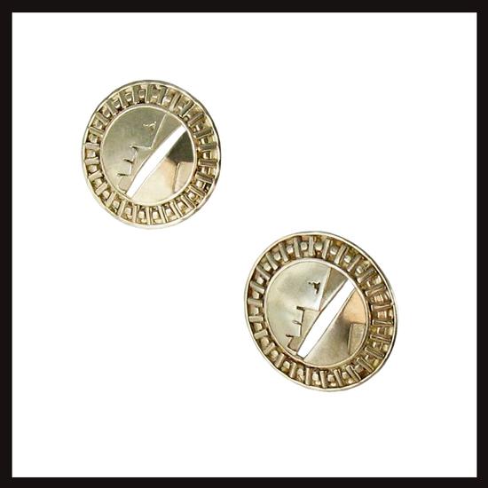 Bauhaus Time Earrings