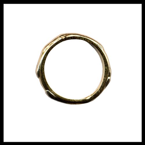 Mixed Gold Turf Ring