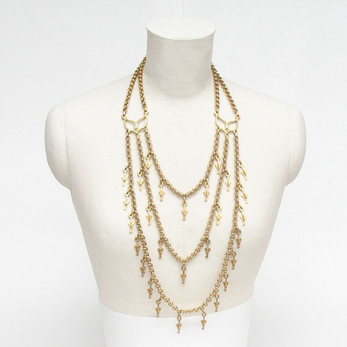 Legend Multi Head Tier Necklace