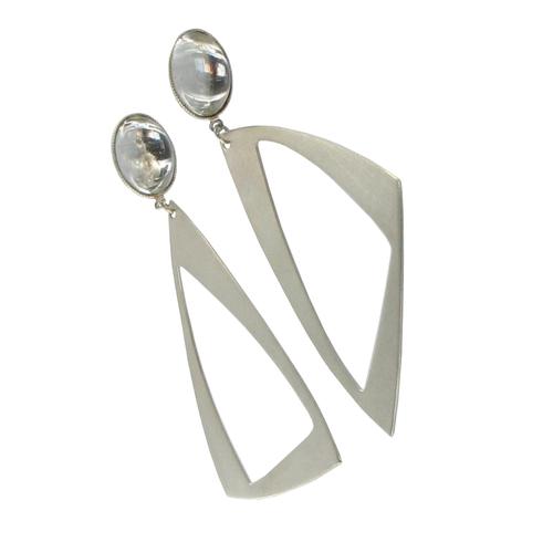 Triangle Drop Earrings Small