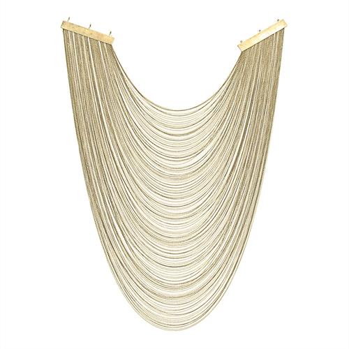 Slimlink Long Multi-Trace Necklace