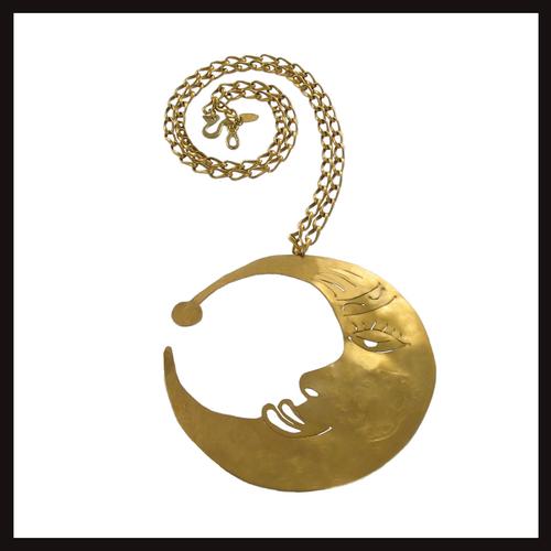 Universe Harvest Moon Pendant