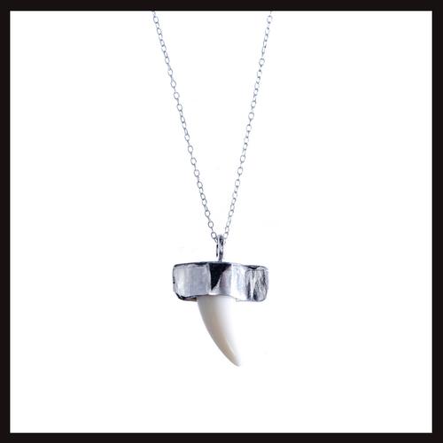 Ethnic Punk Tooth Pendant