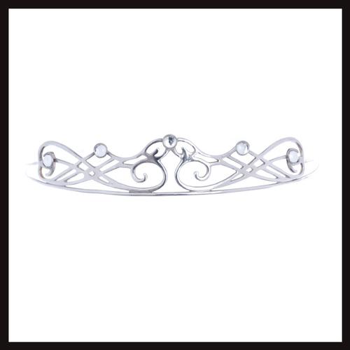 Celtic Nouveau Swirl Tiara