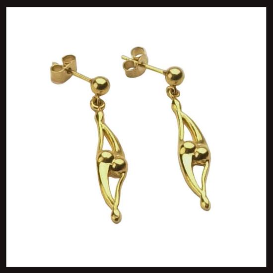 Celtic Nouveau Large Dancer Earrings