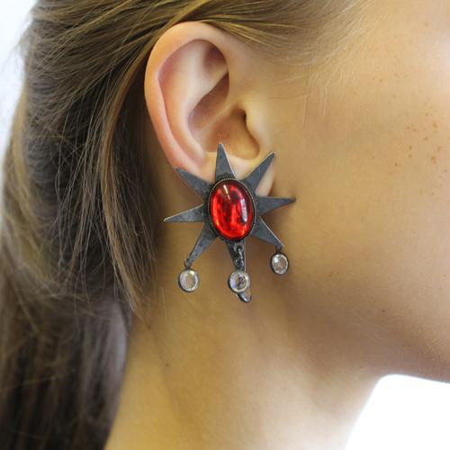 Medium Star Earrings