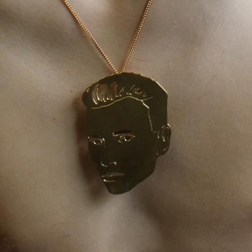 Small Face Pendant