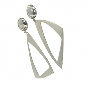 silver-drop-triangle-earrings